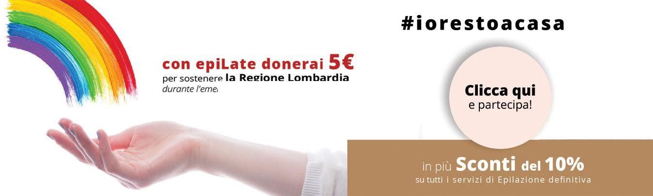 Promozione epiLate #iorestoacasa