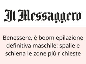 Articolo su Il Messaggero