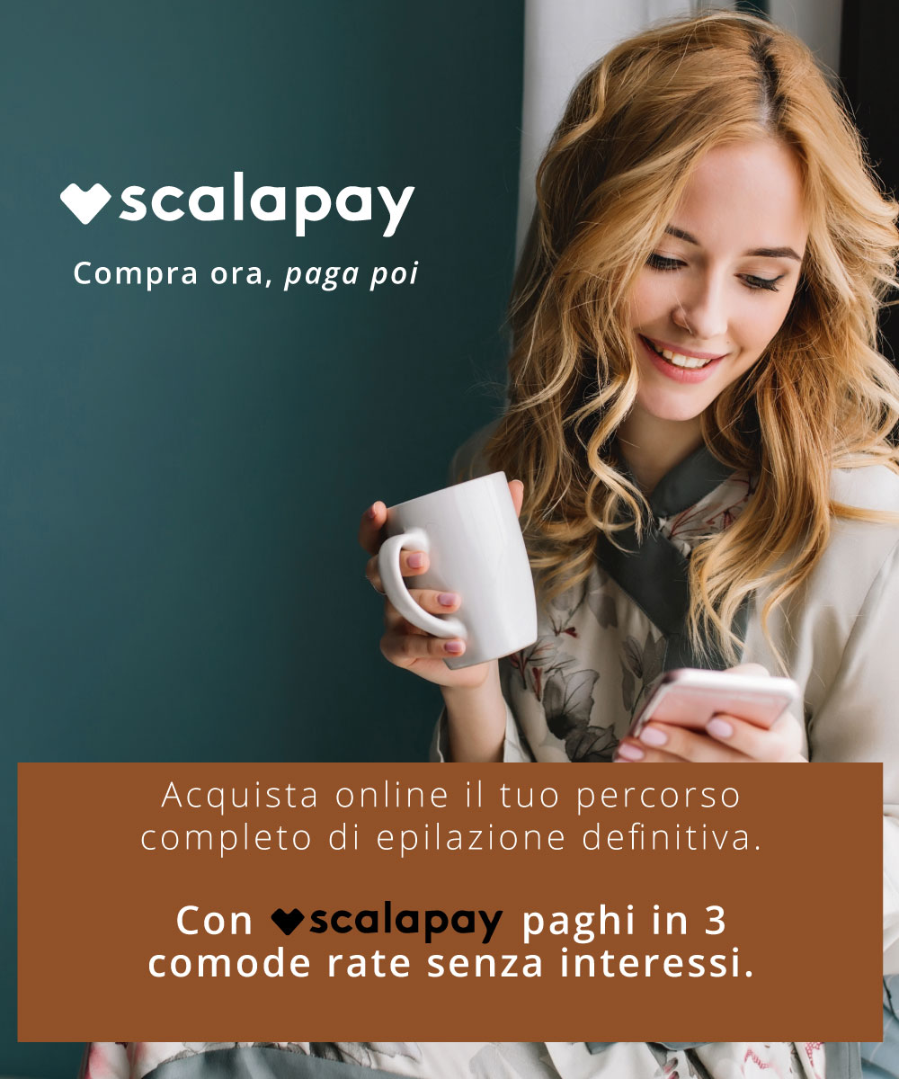 Paga in 3 comode rate con Scalapay